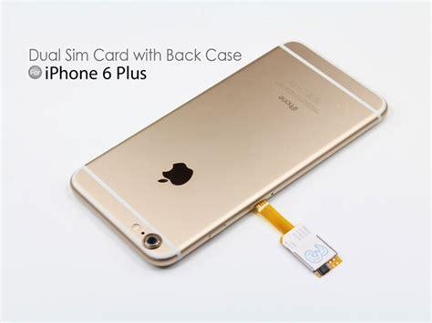 dual sim card  iphone     case