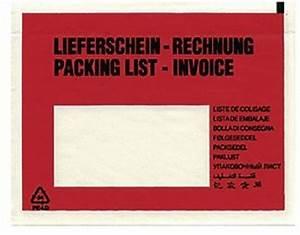 Rechnung Abkürzung : feldtmann versandtasche lieferschein rechnung 081 8970 ~ Themetempest.com Abrechnung
