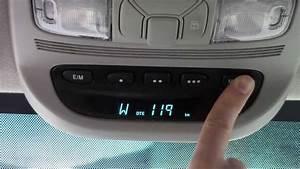 How To Program The Garage Door Opener In Your Car Homelink