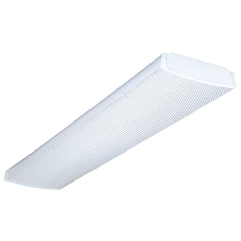 Lithonia Lighting 4 Ft Wraparound Fluorescent Fixturelb