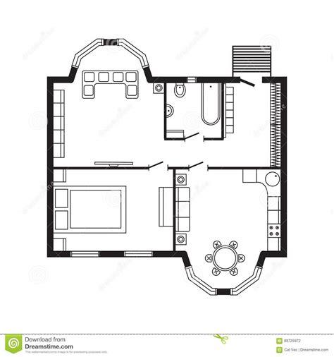 arri鑽e plan de bureau gratuit modern office architectural plan interior furniture and