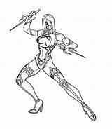 Mortal Kombat Coloring Pages Printable Coloringme sketch template