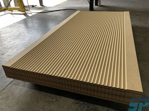 mdf fluted detail scandinavian profiles machining fabricating building materials