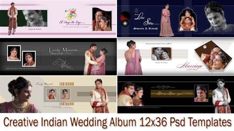 Creative Indian Wedding Album 12x36 Psd Templates