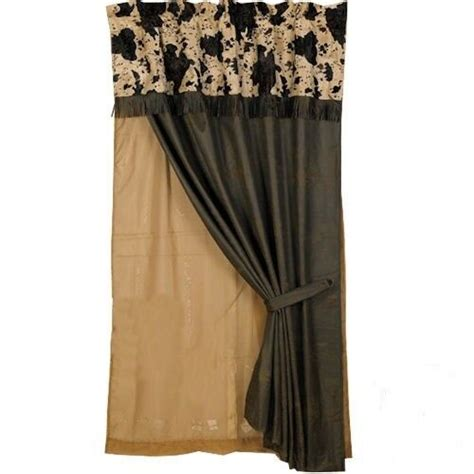 Cowhide Valance by Western Cow Print Curtain And Valance With Free Shipping