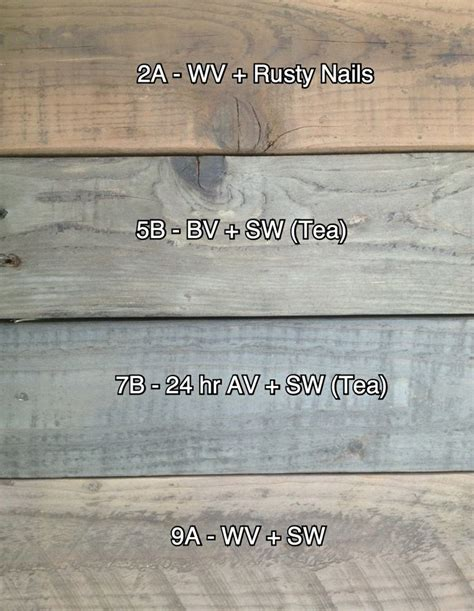unfinished vinegar stains  pallet wood fence ideas