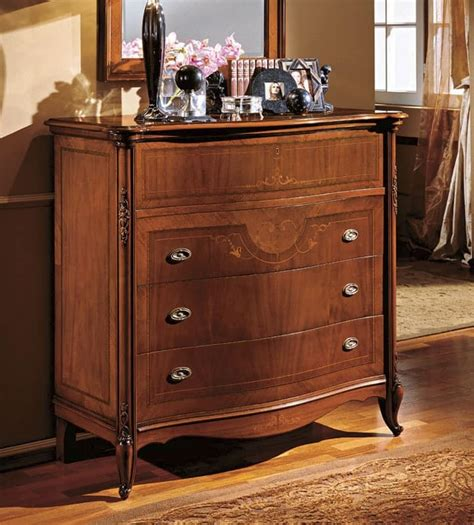 wooden chests  drawers  classic living room idfdesign