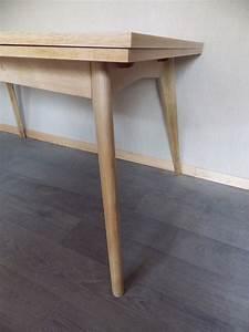 Table Pieds Compas : table pieds compas retour la ligne ~ Teatrodelosmanantiales.com Idées de Décoration