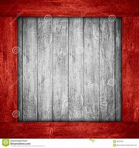 White, Wooden, Background, In, Red, Wood, Frame, Stock, Image