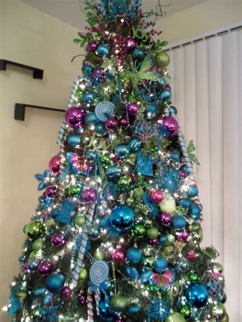 christmas  wonderland tiffany blue purple  lime