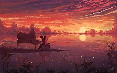 Anime Wallpapers 4k Landscape Artwork