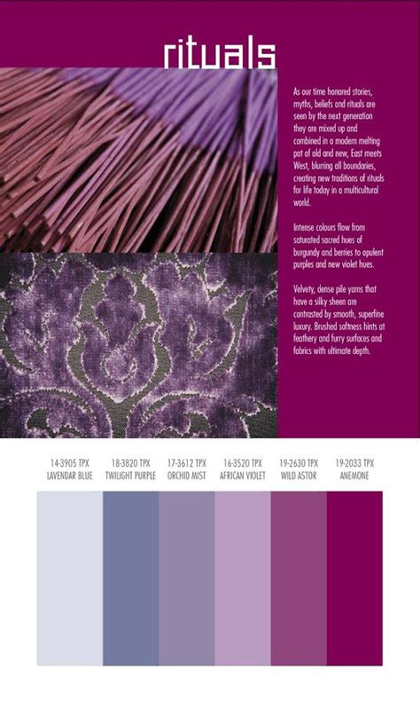 autumn winter 2014 2015 color and textile trends by spin