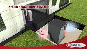 Luft Wärme Pumpe : luftw rmepumpe in splitbauweise von heliotherm youtube ~ Buech-reservation.com Haus und Dekorationen