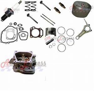 Cylinder Head Rocker Arms Piston Kit Air Filter Connecting
