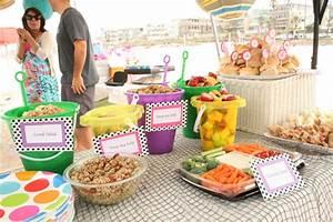 A Beach Theme Birthday Party