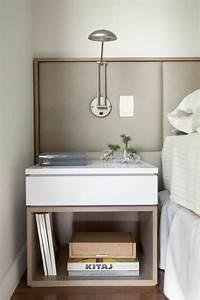 Bett Skandinavisches Design : der nachttisch und seine rolle im modernen schlafzimmer ~ Markanthonyermac.com Haus und Dekorationen