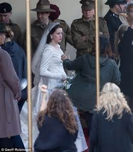 is bridesmaids on netflix the 39 s 1947 wedding to prince philip comes to netflix in the crown daily mail