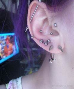 Lobe,Industrial,Rook,Conch,Snug And Tragus Piercings