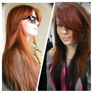 Natural Red Hair With Black Underlayer | www.pixshark.com ...