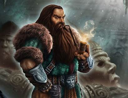 Dwarf Fantasy Wallpapers Character Fictional Mythology Pipe