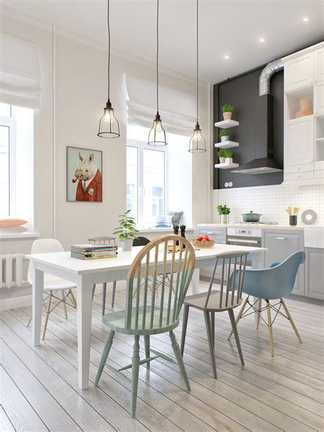 32 More Stunning Scandinavian Dining Rooms