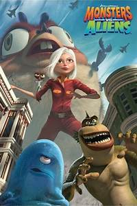 MONSTERS vs. ALIENS - movie poster Poster | Sold at ...