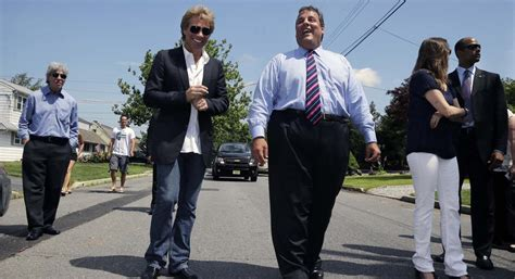 Chris Christie Announcement Jon Bon Jovi Gave