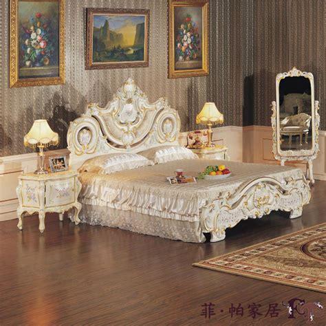 european style bedroom furnitures luxury carving