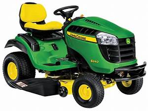 John Deere S240 Riding Lawn Tractor  North America  All