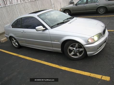 2001 Bmw 325ci Coupe 2 5l 5 Speed