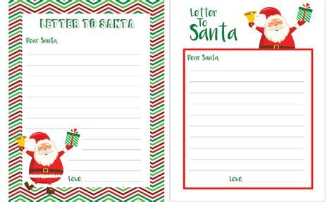 letter  santa  printable    childs