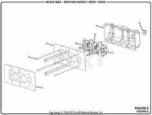 Homelite Bm10700j 7000 Watt Generator Parts Diagram For Figure C