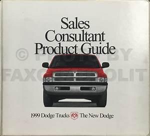1999 Dodge Ram Van  U0026 Wagon Repair Shop Manual Original