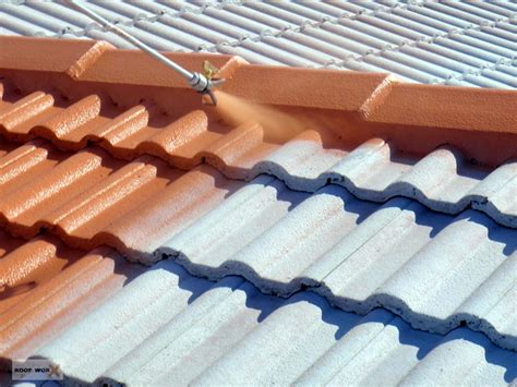 roof tile paint roof tile sealing painting roof worx dublin