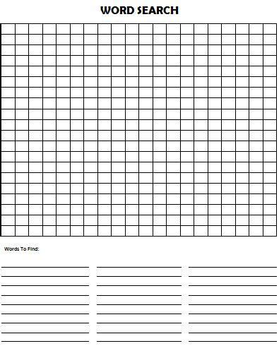word search puzzle homeschooling kids