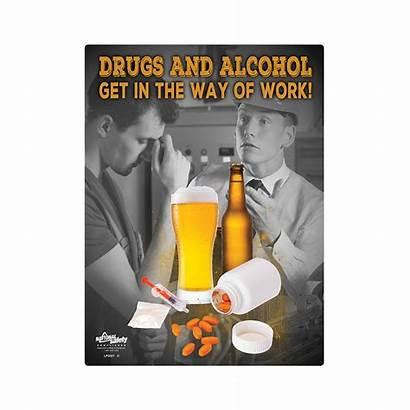 Alcohol Poster Drug Safety Abuse Osha Drugs