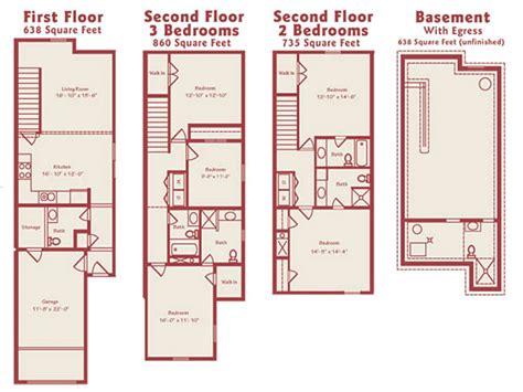 100 3 bedroom townhouse floor plans 3 bedroom modern townhouse floor plans urban townhouse floor plans townhome plans mexzhouse com