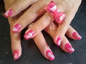 Ongles En Gel Rose : ongles en gel rose clair ~ Melissatoandfro.com Idées de Décoration
