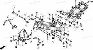 Honda Motorcycle 1994 Oem Parts Diagram For Frame