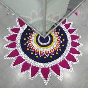 Beautiful Rangoli Designs for Diwali [2018] - K4 Craft