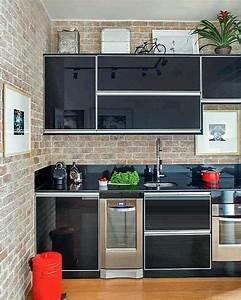 kitchen set aluminium minimalis dapur minimalis idaman With design interior kitchen set minimalis