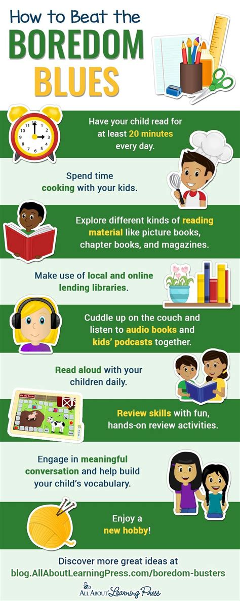 Kids Stuck Inside? Check out Our FREE Boredom Busters in