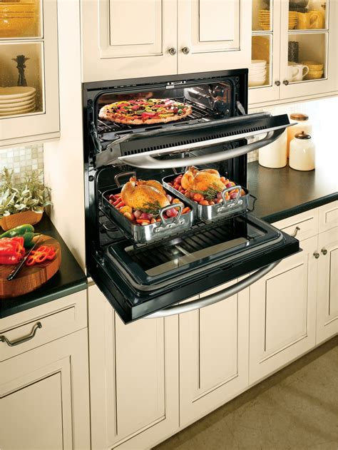 ptsnss ge profile series  built  singledouble convection wall oven stainless steel