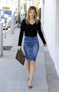 Best 10+ Denim pencil skirt ideas on Pinterest