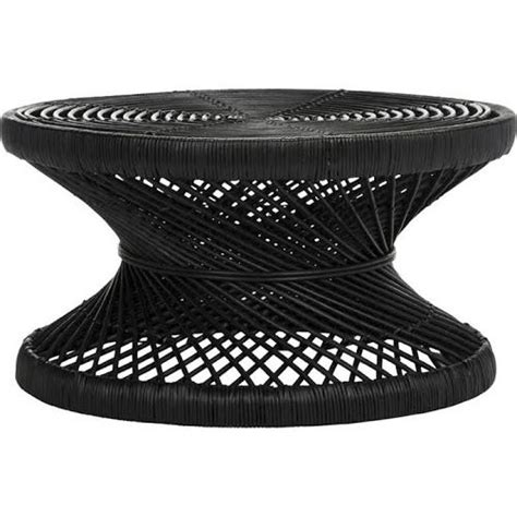 No matter whether it's old coffee is not just a luxury anymore but also a necessity. Rattan Round Coffee Table Black | Rattan coffee table, Black coffee tables, Circular coffee table
