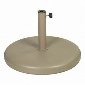 Beton 40 Kg : parasolvoet 40 kg beton ecru voor parasols met dia 2 5 cm tot 5 5 cm ref u 217400 paradisio ~ Frokenaadalensverden.com Haus und Dekorationen