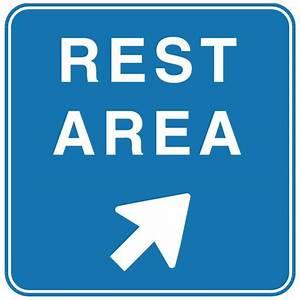 Blackberry Design Guidelines Rest Area Vector Road Sign Download At Vectorportal
