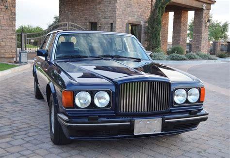 bentley turbo 1990 bentley turbo photos informations articles