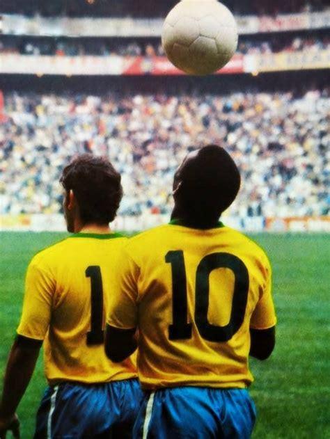 pele  rivelino final da copa  mundo  brasil