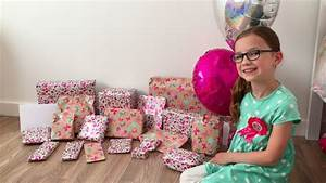 SKY'S 9TH BIRTHDAY -- OPENING PRESENTS - YouTube